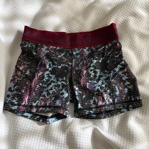 LULULEMON athletics biker shorts